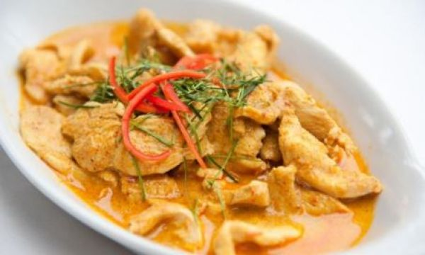 Savory curry with chicken/pork
