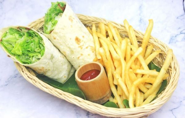 14. Chicken Caesar Wrap